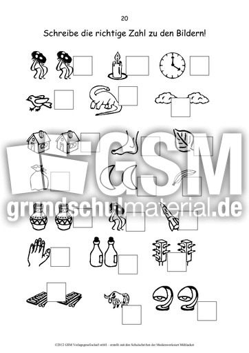 mathetrainer vorschule zahlen 1 6 die zahlen im zr 10 arbeitsbl tter mathe klasse 1. Black Bedroom Furniture Sets. Home Design Ideas