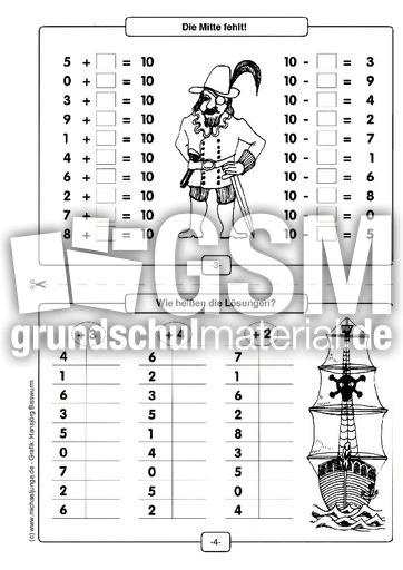 Kopfrechnen für Stillarbeit in der Grundschule - Mathe ...