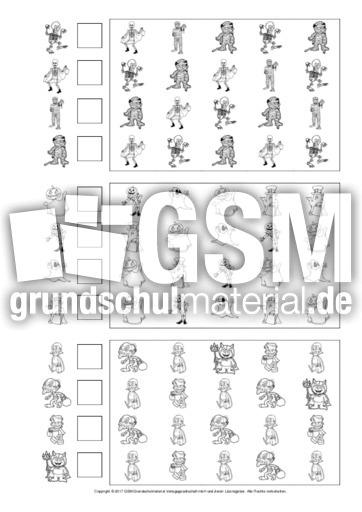 Gemütlich Halloween Nummer Arbeitsblätter 2 Bilder - Ideen färben ...