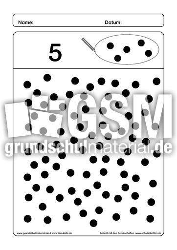 mengen einkreisen mengen lernhefte mengen erfassen arbeitsbl tter mathe klasse 1. Black Bedroom Furniture Sets. Home Design Ideas
