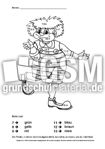 Enchanting Arbeitsblätter Für Die 1Grader Frieze - Kindergarten ...