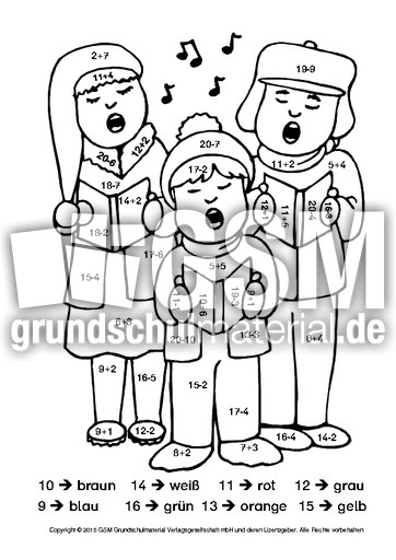 weihnachtenrechnenundmalen7kl1 weihnachtsrechnen