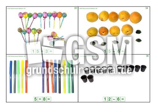 Plus-minus-ZR20-1-20 - Foto-Rechenkartei - Rechenkartei - Arbeitsblu00e4tter - Mathe Klasse 1 ...