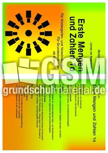 Erste Mengen und Zahlen 1a - Lernen am Bodenkreis - Mathe Klasse 1 ...