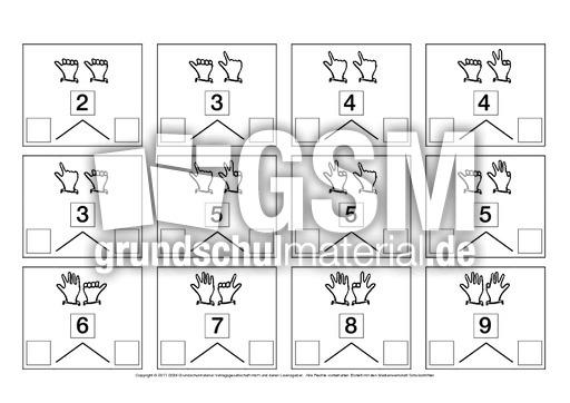 Zahlen-zerlegen-ZR-10 - Zahlen zerlegen - Anschauungsmaterial zum ZR ...