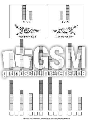 AB-gru00f6u00dfer-als-kleiner-als-4 - AB-kleiner-gru00f6u00dfer - kleiner-gru00f6u00dfer-gleich - Mathe Klasse 1 ...
