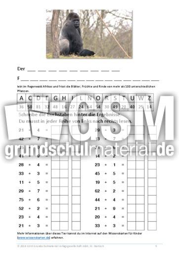 Outstanding Sr Kg Mathe Arbeitsblatt Gift - Kindergarten ...