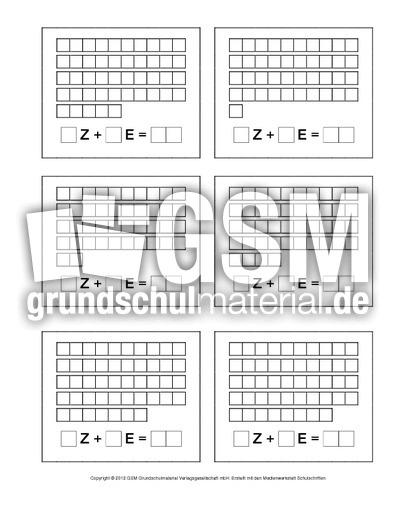 Zahldarstellung-bis-50-1-8 - Erweiterung des ZR bis 100 ...