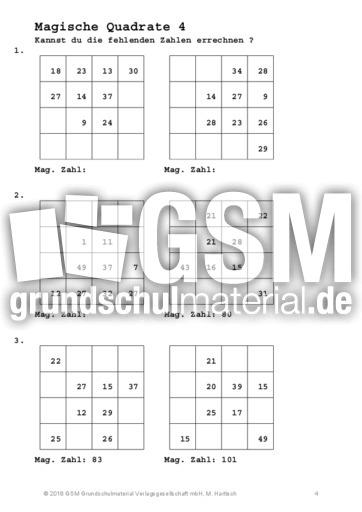 Niedlich Mathe Quadrat Löser Bilder - Gemischte Übungen ...