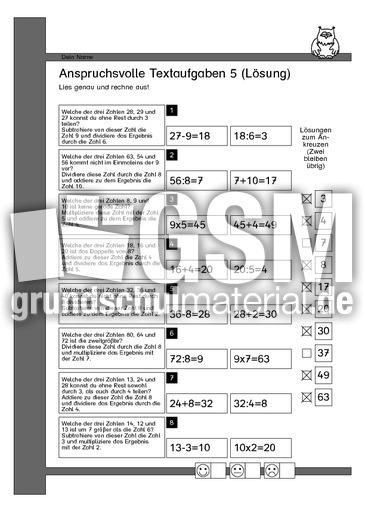 Großartig Ged Mathematische Textaufgaben Arbeitsblatt Ideen ...