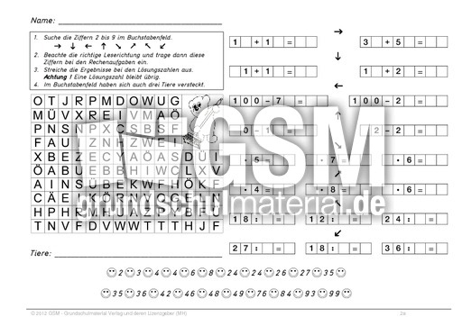 Ziemlich Tj Mathe Arbeitsblatt Zeitgenössisch - Gemischte Übungen ...