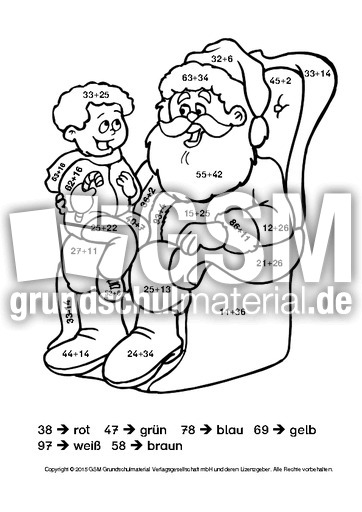 weihnachten rechnen und malen 2 weihnachtsrechnen arbeitsbl tter mathe klasse 2. Black Bedroom Furniture Sets. Home Design Ideas