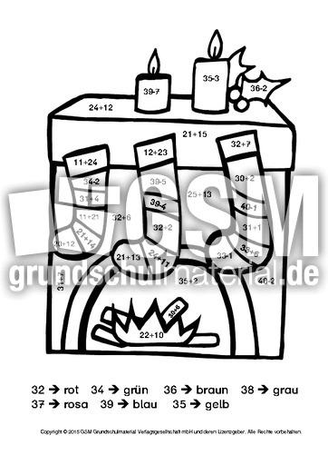 weihnachten rechnen und malen 6 weihnachtsrechnen arbeitsbl tter mathe klasse 2. Black Bedroom Furniture Sets. Home Design Ideas