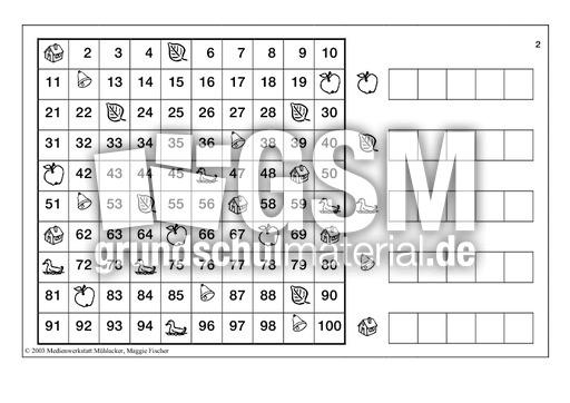 Zahlen-finden-2 - Zahlen finden - Arbeitsblätter - Mathe Klasse 2 ...