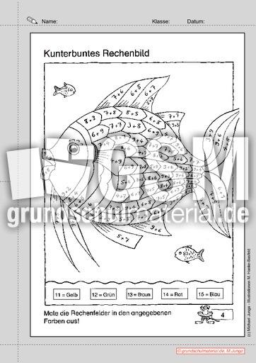 Lernpaket Rechnen in der 2. Klasse 04 - Lernpaket Rechnen - Arbeitsblu00e4tter - Mathe Klasse 2 ...