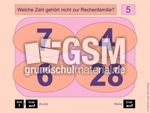 Arbeitsblatt Vorschule fotokartei aufnahme : 1x1 - Gemischte Teilaufgaben 4 (E+P) - Einmaleins - 1x1 ...