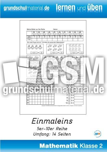 Malreihen amp Multiplizieren  Mathematik in der Volksschule