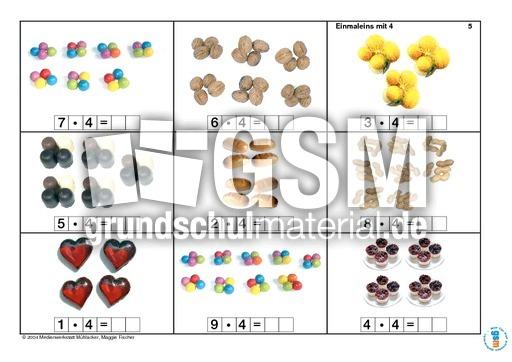 Arbeitsblatt Vorschule fotokartei aufnahme : Einmaleins-Fotokartei Teil 1 - Einmaleins 1x1-Lernhefte ...