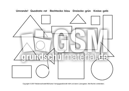 ab geometrische formen 3 arbeitsb gen geometrie mathe klasse 2. Black Bedroom Furniture Sets. Home Design Ideas