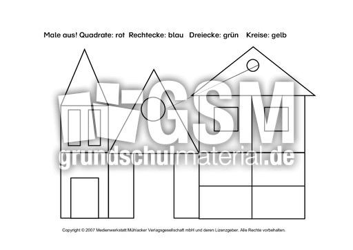 ab geometrische formen 1 arbeitsb gen geometrie mathe klasse 2. Black Bedroom Furniture Sets. Home Design Ideas