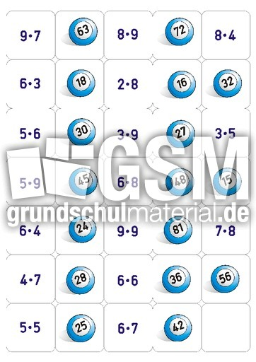 1x1 Memo Spiel 1 Memo Spiele Spielerisch Rechnen Mathe Klasse