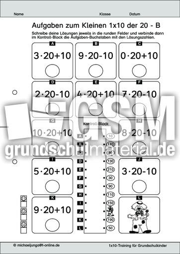 Charmant Variation Mathe Arbeitsblatt Galerie - Mathe Arbeitsblatt ...