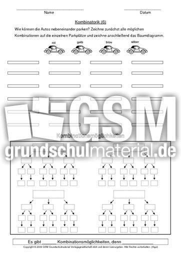 8 ab 39 s kombinatorik kombinatorik arbeitsbl tter mathe klasse 3. Black Bedroom Furniture Sets. Home Design Ideas