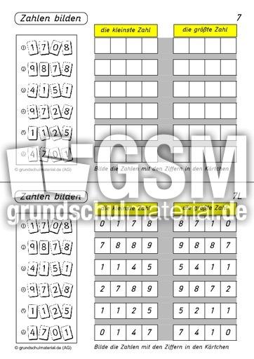 Beste Kopfrechnen Arbeitsblatt Grad 3 Bilder - Arbeitsblätter für ...