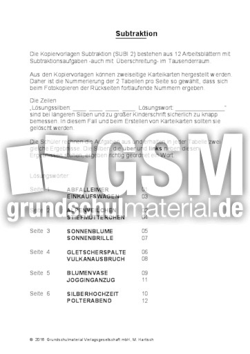 Großartig Erstellen Addition Und Subtraktion Arbeitsblatt Galerie ...