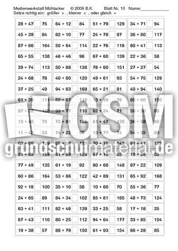 Ungleichungen_Addition_bis_200_Nr_10 - Ungleichungen Addition - 200 ...