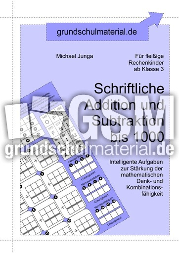 00 schriftliche addition und subtraktion bis 1000 schriftliche addition subtraktion. Black Bedroom Furniture Sets. Home Design Ideas