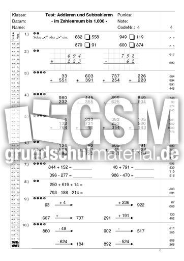 arbeitsblatt vorschule 187 klassenarbeiten mathe 3 klasse