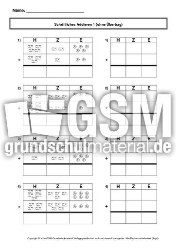 arbeitsblatt vorschule 187 einf252hrung addition klasse 1