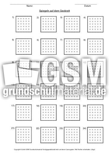 geobrett vorlage blanko klein geobrett geometrie mathe klasse 3. Black Bedroom Furniture Sets. Home Design Ideas