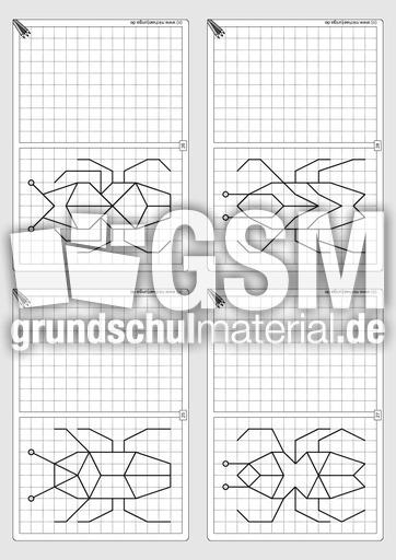 gitterbilder zeichnen 2 07 arbeitsbl tter gitterbilder zeichnen gitterbilder geometrie. Black Bedroom Furniture Sets. Home Design Ideas