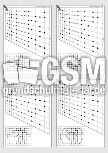 Gitterbilder zeichnen 3-05 - Arbeitsblätter - Gitterbilder zeichnen ...