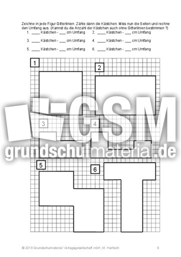 umfang und fl che umfang und fl che geometrie mathe klasse 3. Black Bedroom Furniture Sets. Home Design Ideas