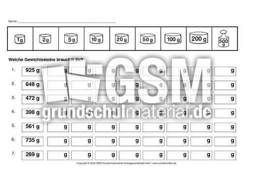 abgewichte8 kilogramm gramm rechnen mit gr246223en