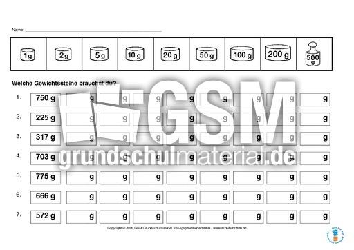 rechnen mit gewichten kilogramm gramm rechnen mit