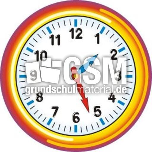 Uhr 01-27 - Uhrzeit farbe - Uhren-Bilder - Uhrzeiten ...