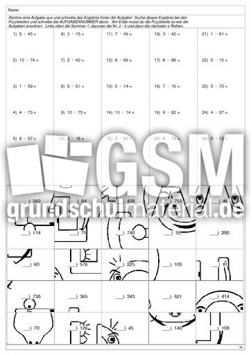 Fein Puzzle Mathe Arbeitsblatt Fotos - Arbeitsblätter für ...