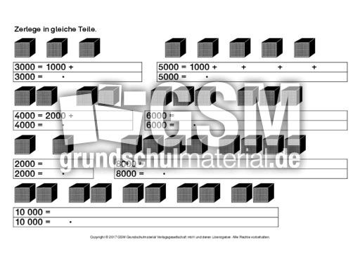 Zahlen-bis-10000-zerlegen-1 - Einführung - Erweiterung ZR 10.000 ...
