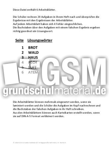 Division 2 - Division - Fehlersuche - Mathe Klasse 4 ...