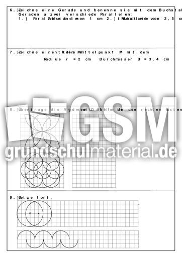 Arbeit Parallele Zirkel Multiplikation u00dcbungsaufgaben 2 ...