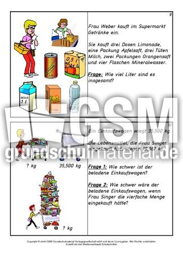 Kartei-Sachaufgaben-Kl-4 5 - Sachaufgaben - Karteien - Mathe Klasse ...