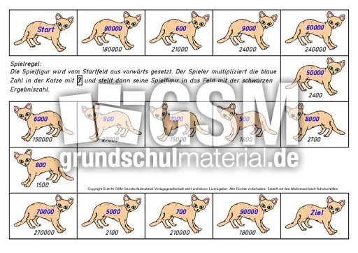 Wu00fcrfelspiel-Katze-mal-3 - Wu00fcrfelspiele-Multiplikation ...