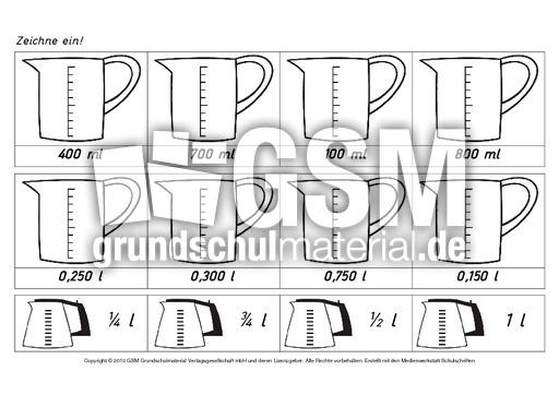 ab liter milliliter 5 arbeitsbl tter liter milliliter liter milliliter rechnen mit gr en. Black Bedroom Furniture Sets. Home Design Ideas