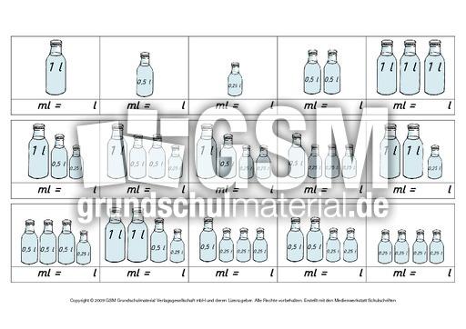ab liter milliliter 2 arbeitsbl tter liter milliliter liter milliliter rechnen mit gr en. Black Bedroom Furniture Sets. Home Design Ideas