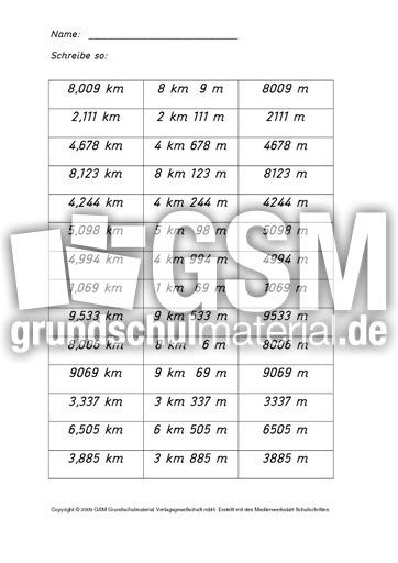 AB-Kilometer-Meter-1-8-Lu00f6s - Kilometer-Meter-Zentimeter - Rechnen mit Gru00f6u00dfen - Mathe Klasse 4 ...