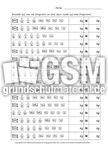 Zahlen Runden Klasse 4 Arbeitsblatt